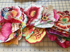 fused fabric motifs
