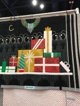 Charlie Harper Christmas quilt