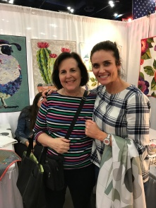 Dixie and Collage Quilter owner