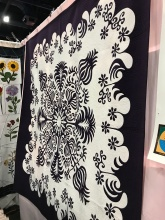 Spain quilt booth