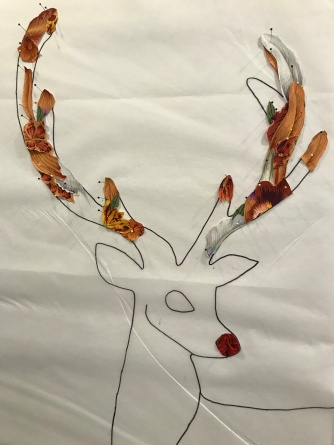 Progress on antlers