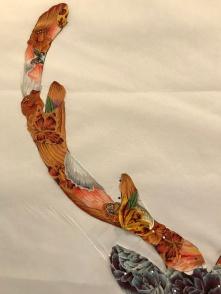 fusing motifs on antler