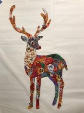 Reindeer - not on background